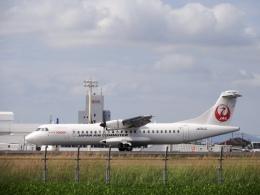 だぞさんが、鹿児島空港で撮影した日本エアコミューター ATR 72-600の航空フォト(飛行機 写真・画像)