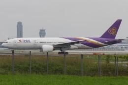 walker2000さんが、成田国際空港で撮影したタイ国際航空 777-2D7/ERの航空フォト(飛行機 写真・画像)
