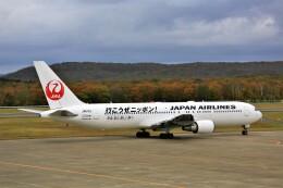 にしやんさんが、釧路空港で撮影した日本航空 767-346/ERの航空フォト(飛行機 写真・画像)