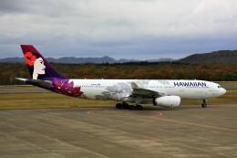 にしやんさんが、釧路空港で撮影したハワイアン航空 A330-243の航空フォト(飛行機 写真・画像)