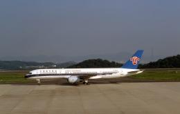 LEVEL789さんが、岡山空港で撮影した中国南方航空 757-21Bの航空フォト(飛行機 写真・画像)