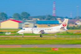 KAMIYA JASDFさんが、札幌飛行場で撮影した北海道エアシステム 340B/Plusの航空フォト(飛行機 写真・画像)
