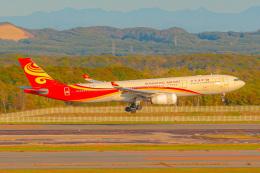 KAMIYA JASDFさんが、新千歳空港で撮影した香港航空 A330-343Xの航空フォト(飛行機 写真・画像)