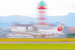 KAMIYA JASDFさんが、札幌飛行場で撮影した北海道エアシステム ATR 42-600の航空フォト(飛行機 写真・画像)
