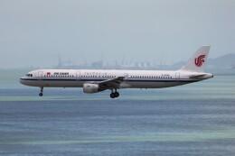 フッ軽の極美さんが、香港国際空港で撮影した中国国際航空 A321-213の航空フォト(飛行機 写真・画像)