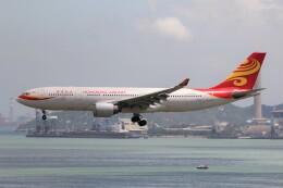 フッ軽の極美さんが、香港国際空港で撮影した香港航空 A330-223の航空フォト(飛行機 写真・画像)