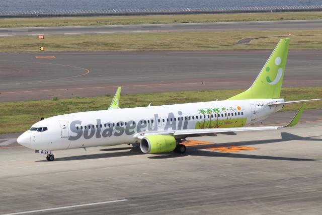 クロマティさんが、中部国際空港で撮影したソラシド エア 737-86Nの航空フォト(飛行機 写真・画像)