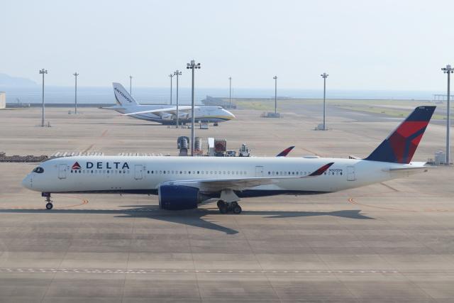 クロマティさんが、中部国際空港で撮影したデルタ航空 A350-941の航空フォト(飛行機 写真・画像)