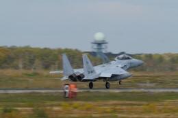 博タンさんが、千歳基地で撮影した航空自衛隊 F-15DJ Eagleの航空フォト(飛行機 写真・画像)