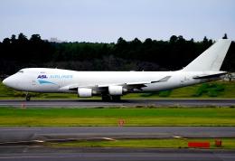 SFJ_capさんが、成田国際空港で撮影したASLエアラインズ・ベルギー 747-4KZF/SCDの航空フォト(飛行機 写真・画像)