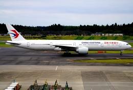 SFJ_capさんが、成田国際空港で撮影した中国東方航空 777-39P/ERの航空フォト(飛行機 写真・画像)