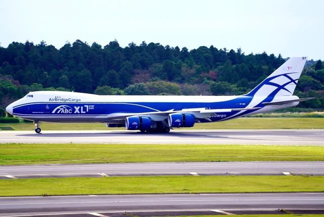 SFJ_capさんが、成田国際空港で撮影したエアブリッジ・カーゴ・エアラインズ 747-83QFの航空フォト(飛行機 写真・画像)