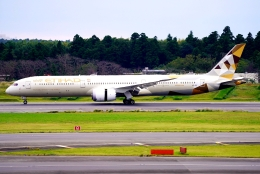 SFJ_capさんが、成田国際空港で撮影したエティハド航空 787-10の航空フォト(飛行機 写真・画像)