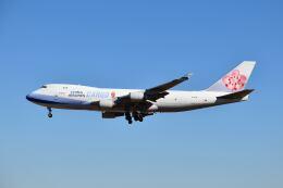 ポン太さんが、成田国際空港で撮影したチャイナエアライン 747-409F/SCDの航空フォト(飛行機 写真・画像)