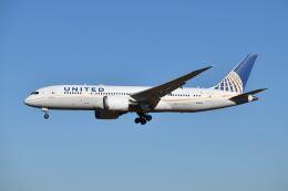 ポン太さんが、成田国際空港で撮影したユナイテッド航空 787-8 Dreamlinerの航空フォト(飛行機 写真・画像)