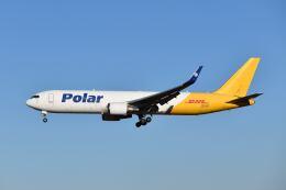 ポン太さんが、成田国際空港で撮影したポーラーエアカーゴ 767-3JHF(ER)の航空フォト(飛行機 写真・画像)