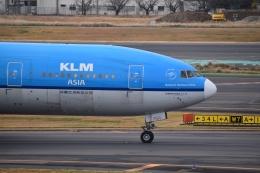 hachiさんが、成田国際空港で撮影したKLMオランダ航空 777-206/ERの航空フォト(飛行機 写真・画像)