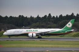 PIRORINGさんが、成田国際空港で撮影したエバー航空 787-9の航空フォト(飛行機 写真・画像)