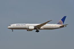 ポン太さんが、成田国際空港で撮影したユナイテッド航空 787-9の航空フォト(飛行機 写真・画像)