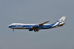 ポン太さんが、成田国際空港で撮影したエアブリッジ・カーゴ・エアラインズ 747-8Fの航空フォト(飛行機 写真・画像)