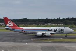PIRORINGさんが、成田国際空港で撮影したカーゴルクス・イタリア 747-4R7F/SCDの航空フォト(飛行機 写真・画像)