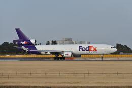 ポン太さんが、成田国際空港で撮影したフェデックス・エクスプレス MD-11Fの航空フォト(飛行機 写真・画像)
