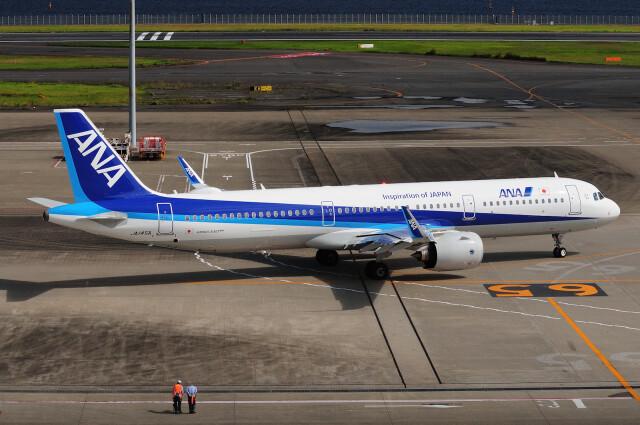 航空フォト:JA145A 全日空 A321neo