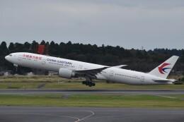 PIRORINGさんが、成田国際空港で撮影した中国東方航空 777-39P/ERの航空フォト(飛行機 写真・画像)