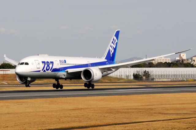 Takehiro-2018さんが、伊丹空港で撮影した全日空 787-8 Dreamlinerの航空フォト(飛行機 写真・画像)