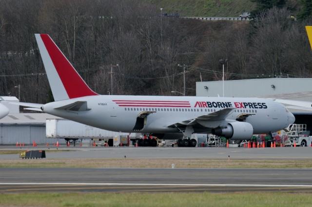 TA27さんが、ボーイングフィールドで撮影したエアーボーンエクスプレス 767-281(PC)の航空フォト(飛行機 写真・画像)