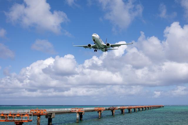 チャッピー・シミズさんが、下地島空港で撮影したスカイマーク 737-81Dの航空フォト(飛行機 写真・画像)
