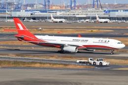 空飛ぶ丸さんさんが、羽田空港で撮影した上海航空 A330-343Xの航空フォト(飛行機 写真・画像)