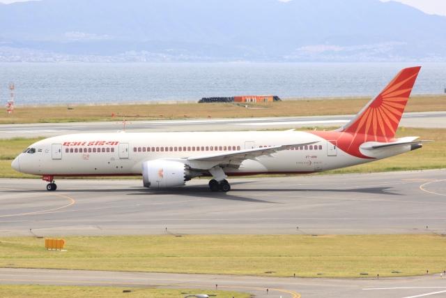 空飛ぶ丸さんさんが、関西国際空港で撮影したエア・インディア 787-8 Dreamlinerの航空フォト(飛行機 写真・画像)
