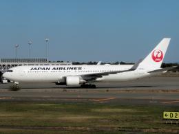 狛犬さんが、新千歳空港で撮影した日本航空 767-346/ERの航空フォト(飛行機 写真・画像)