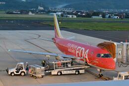 ポン太さんが、出雲空港で撮影したフジドリームエアラインズ ERJ-170-100 (ERJ-170STD)の航空フォト(飛行機 写真・画像)
