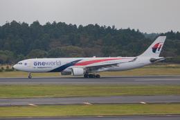 ゆーすきんさんが、成田国際空港で撮影したマレーシア航空 A330-323Xの航空フォト(飛行機 写真・画像)