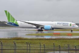 jun☆さんが、成田国際空港で撮影したバンブー・エアウェイズ 787-9の航空フォト(飛行機 写真・画像)