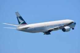 amarumeさんが、成田国際空港で撮影したキャセイパシフィック航空 777-267の航空フォト(飛行機 写真・画像)