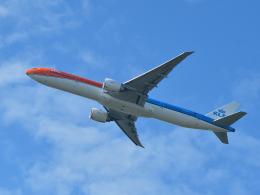 tamitanさんが、成田国際空港で撮影したKLMオランダ航空 777-306/ERの航空フォト(飛行機 写真・画像)