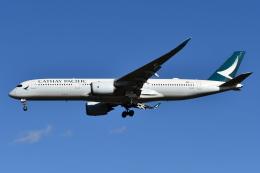 Deepさんが、成田国際空港で撮影したキャセイパシフィック航空 A350-941の航空フォト(飛行機 写真・画像)