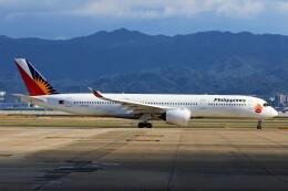 PW4090さんが、関西国際空港で撮影したフィリピン航空 A350-941の航空フォト(飛行機 写真・画像)