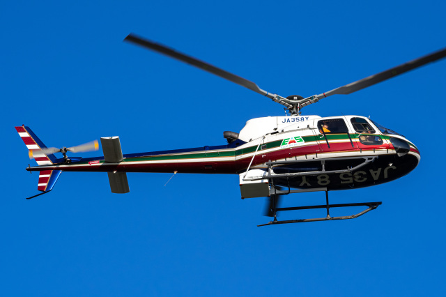 Tatsuya.Kさんが、東京ヘリポートで撮影したエクセル航空 AS350B2 Ecureuilの航空フォト(飛行機 写真・画像)