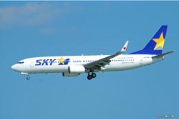 やまちゃんKさんが、那覇空港で撮影したスカイマーク 737-86Nの航空フォト(飛行機 写真・画像)