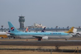 Love NRTさんが、成田国際空港で撮影した大韓航空 737-9B5の航空フォト(飛行機 写真・画像)