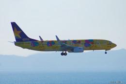 やまちゃんKさんが、那覇空港で撮影したスカイマーク 737-8ALの航空フォト(飛行機 写真・画像)