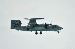 やまちゃんKさんが、那覇空港で撮影した航空自衛隊 E-2C Hawkeyeの航空フォト(飛行機 写真・画像)