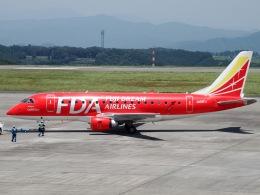 FT51ANさんが、静岡空港で撮影したフジドリームエアラインズ ERJ-170-100 (ERJ-170STD)の航空フォト(飛行機 写真・画像)