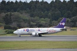 セッキーさんが、成田国際空港で撮影したYTOカーゴ・エアラインズ 737-36Q(SF)の航空フォト(飛行機 写真・画像)