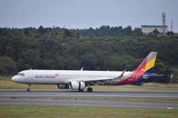セッキーさんが、成田国際空港で撮影したアシアナ航空 A321-251NXの航空フォト(飛行機 写真・画像)