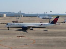 中須 無敵級*トプナン王さんが、中部国際空港で撮影したデルタ航空 A350-941の航空フォト(飛行機 写真・画像)